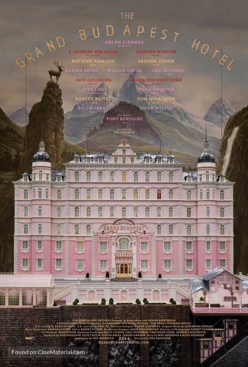 The Grand Budapest Hotel - Movie Poster