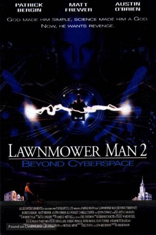Lawnmower Man 2: Beyond Cyberspace - Movie Poster