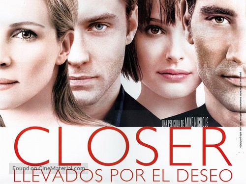 Closer - Mexican poster