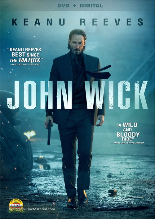 John Wick - DVD cover