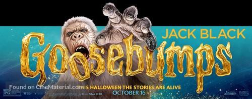 Goosebumps - Movie Poster