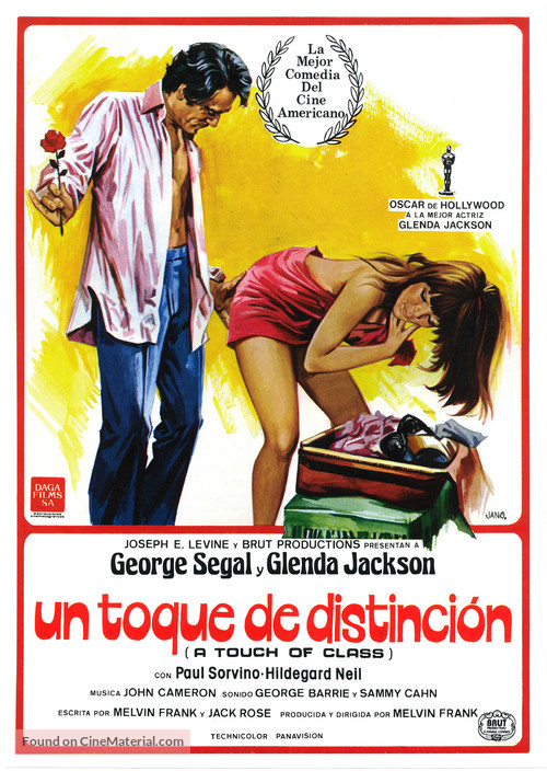 A Touch of Class - Spanish Movie Poster