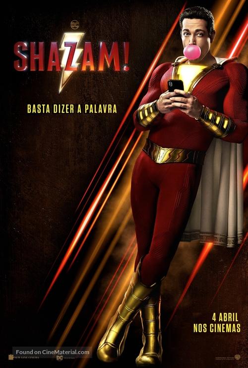 Shazam! - Portuguese Movie Poster