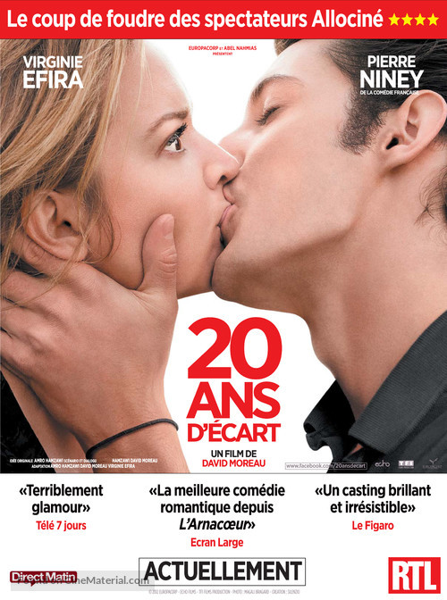 20 ans d'écart - French Movie Poster