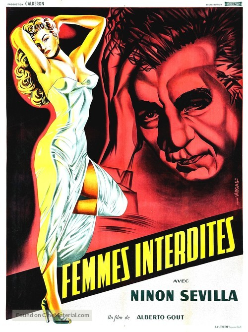 Sensualidad - French Movie Poster