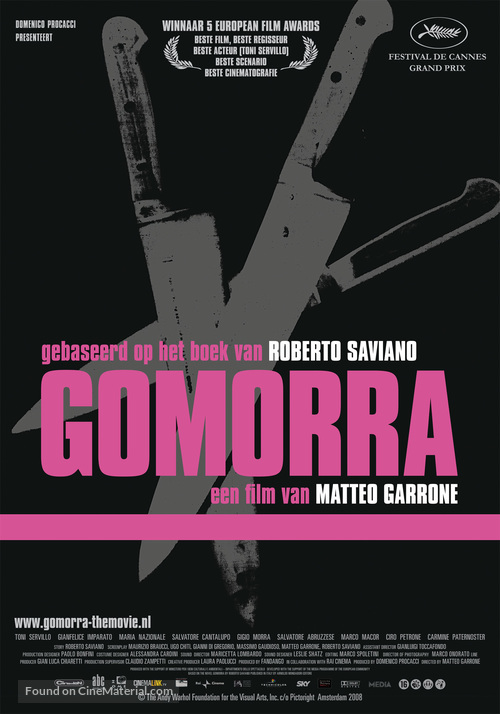 Gomorra - Dutch Movie Poster