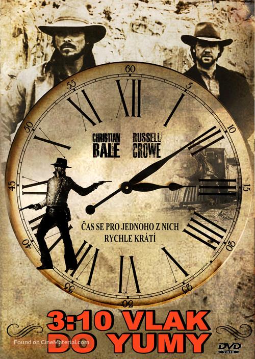 3:10 to Yuma - Czech DVD cover