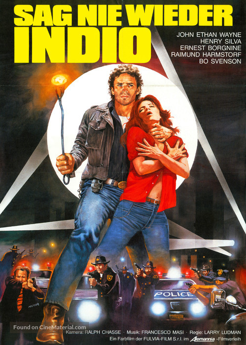 Cane arrabbiato - German Movie Poster