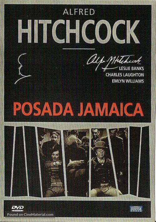 Jamaica Inn - Spanish DVD cover