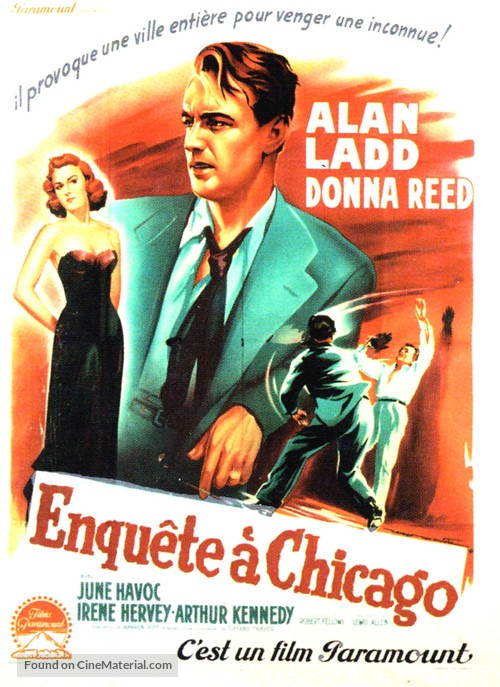 Chicago Deadline - French Movie Poster