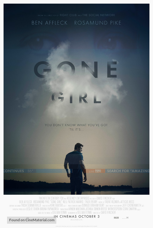 Gone Girl - Movie Poster