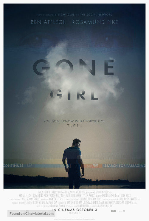 Gone Girl - Movie Poster