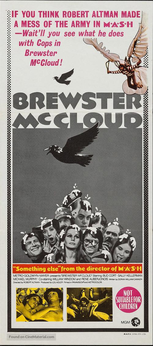 Brewster McCloud - Australian Movie Poster