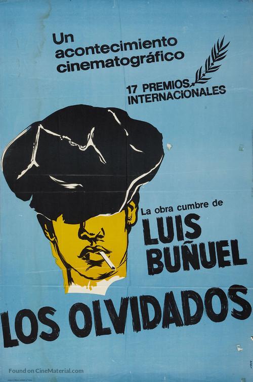 Los olvidados - Argentinian Movie Poster