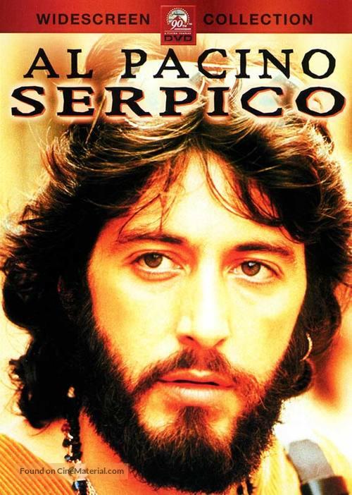 Serpico - DVD movie cover