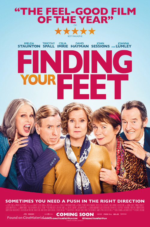 Finding Your Feet - British Movie Poster