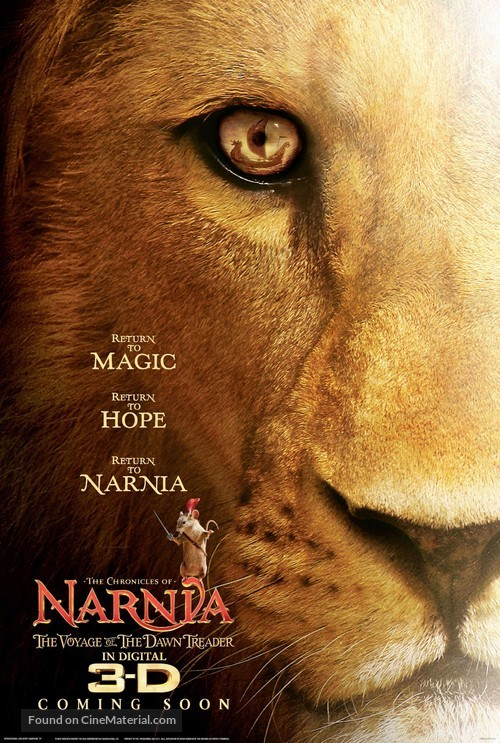 The Chronicles of Narnia: The Voyage of the Dawn Treader - Movie Poster