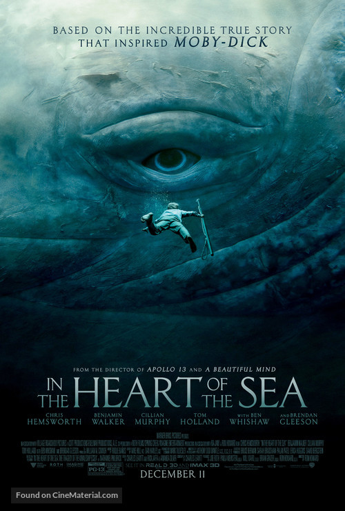 In the Heart of the Sea - Movie Poster