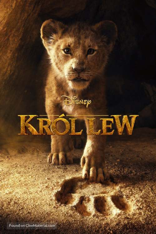 The Lion King - Polish Movie Cover