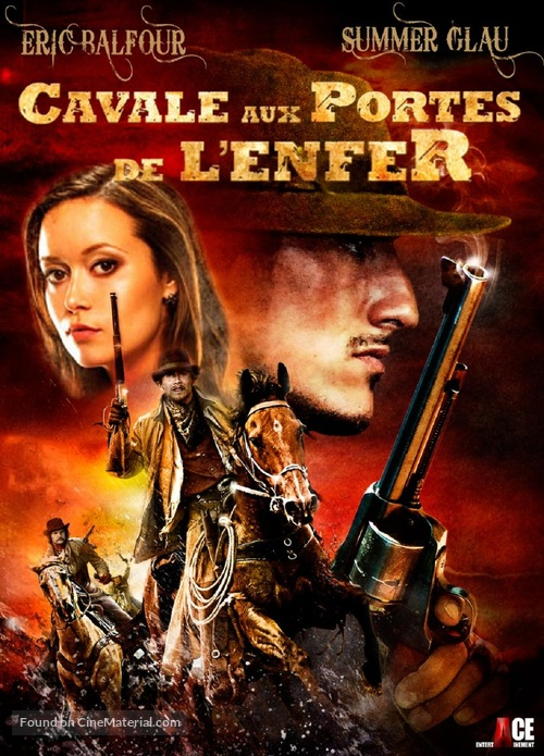 The Legend of Hell's Gate: An American Conspiracy - French DVD cover