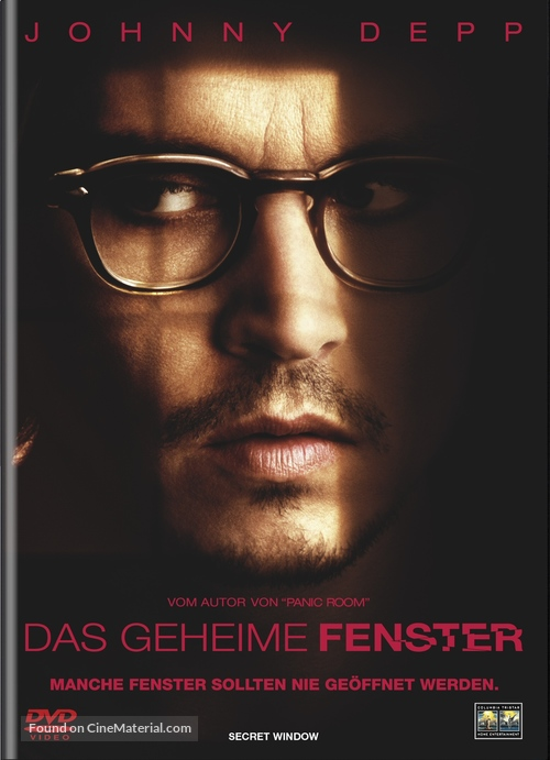 Secret Window - Swiss Movie Cover