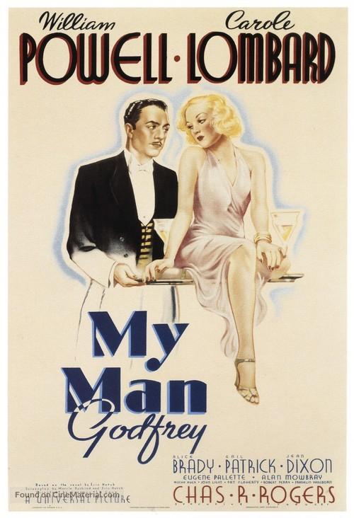 My Man Godfrey - Movie Poster
