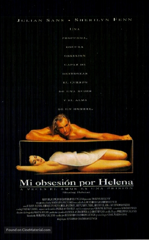 Boxing Helena - Spanish Movie Poster