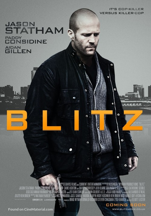Blitz - British Movie Poster
