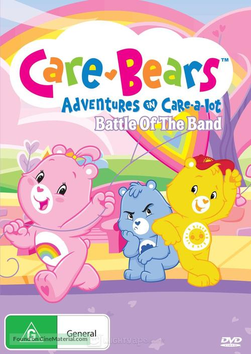 """Care Bears: Adventures in Care-A-Lot"" - Australian DVD cover"