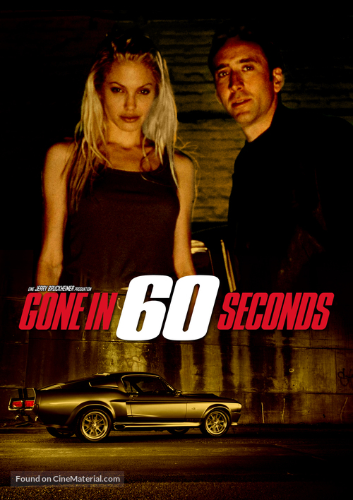 Gone In 60 Seconds - DVD cover