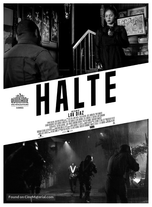 The Halt - French Movie Poster