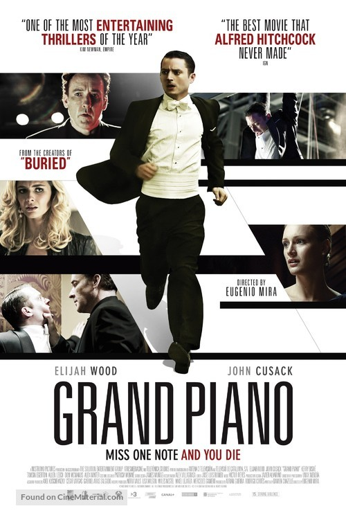Grand Piano - British Movie Poster
