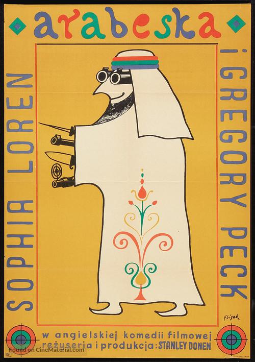 Arabesque - Polish Movie Poster