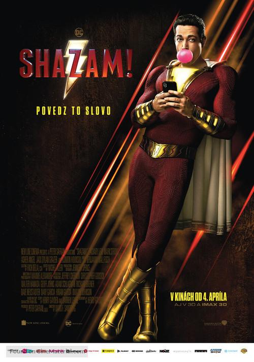 Shazam! - Slovak Movie Poster
