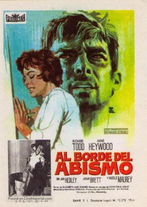 The Very Edge - Spanish Movie Poster