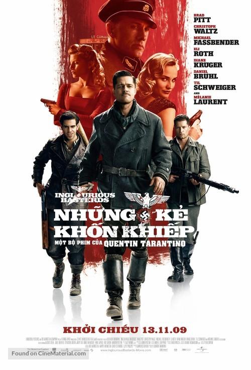 Inglourious Basterds - Vietnamese Movie Poster