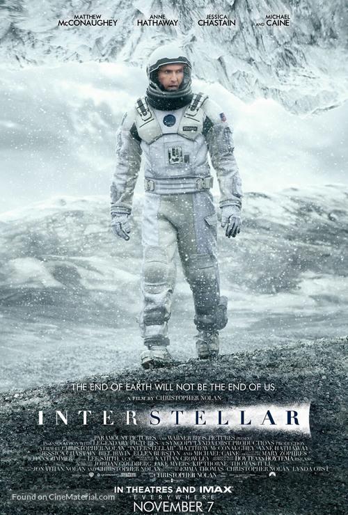 Interstellar - Icelandic Movie Poster