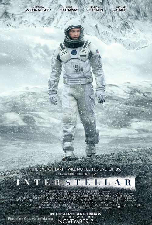 Interstellar - Icelandic Movie Poster