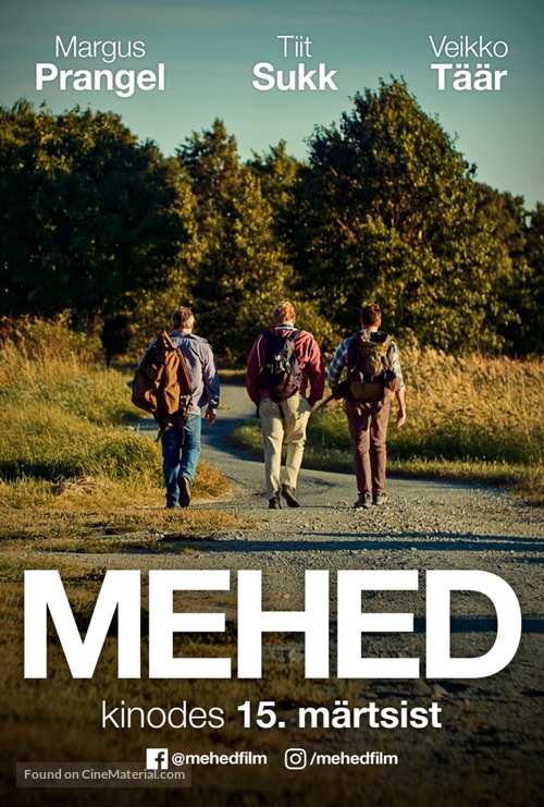 Mehed - Estonian Movie Poster