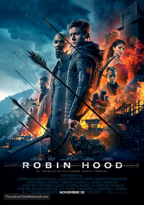 Robin Hood - Mexican Movie Poster