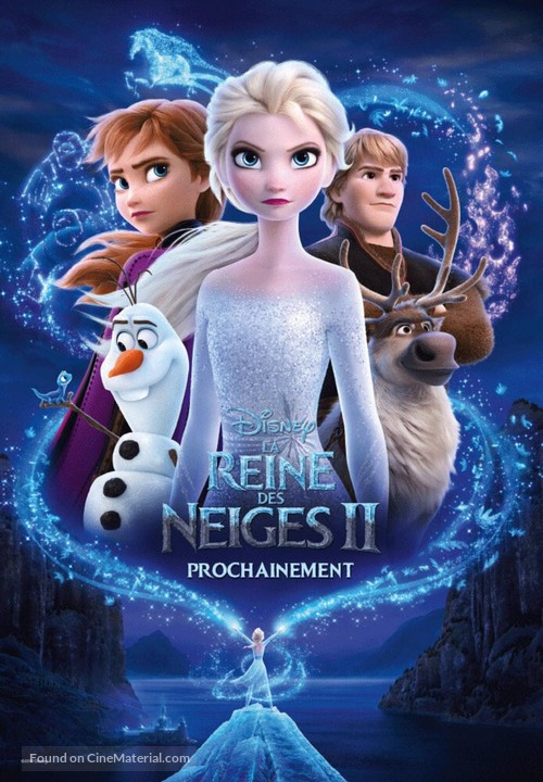 Frozen II - French Movie Poster