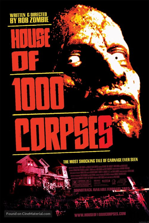 House of 1000 Corpses - Movie Poster