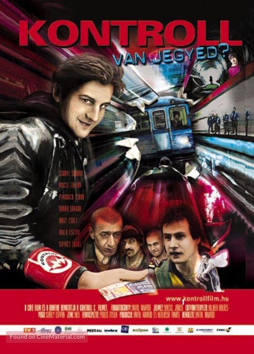 Kontroll - Hungarian Movie Poster