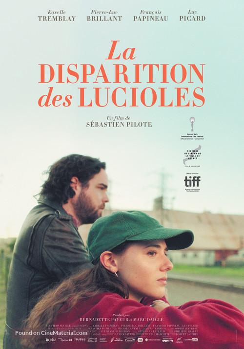 La disparition des lucioles - Canadian Movie Poster