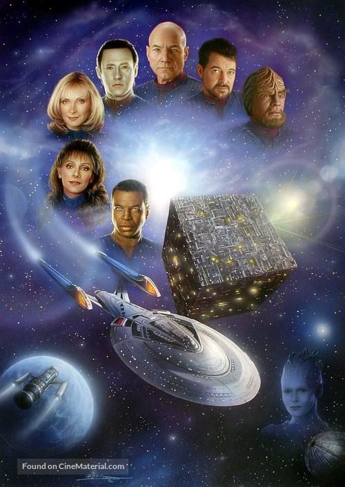 """Star Trek: The Next Generation"" - Key art"