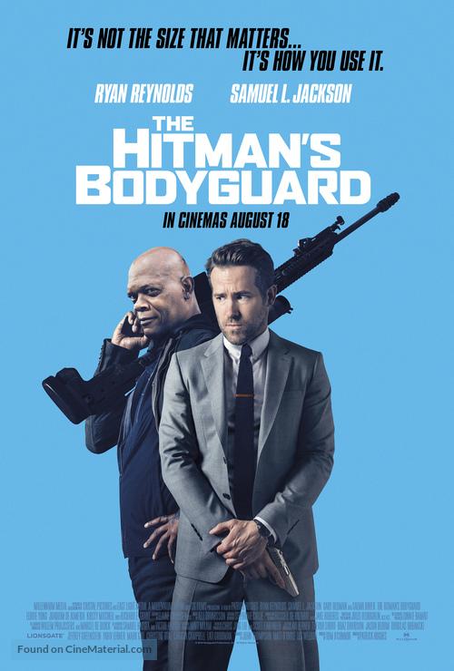 The Hitman's Bodyguard - British Movie Poster