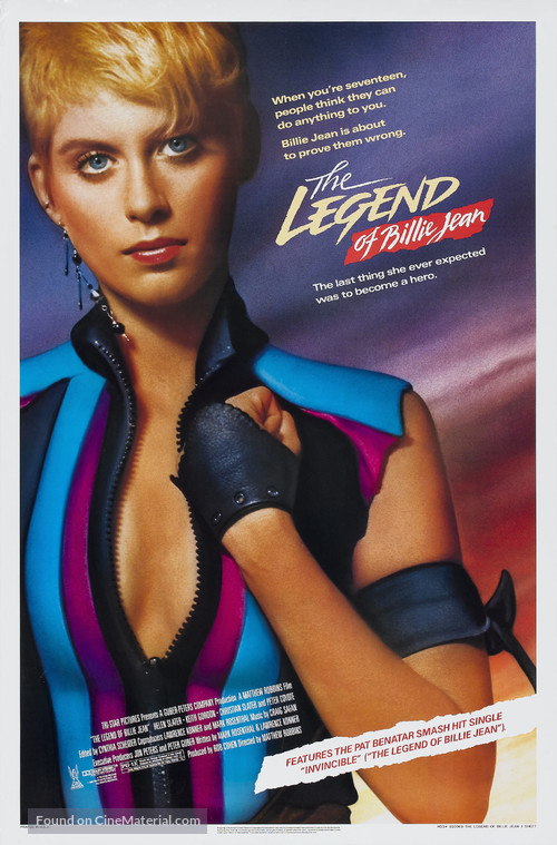 The Legend of Billie Jean - Movie Poster