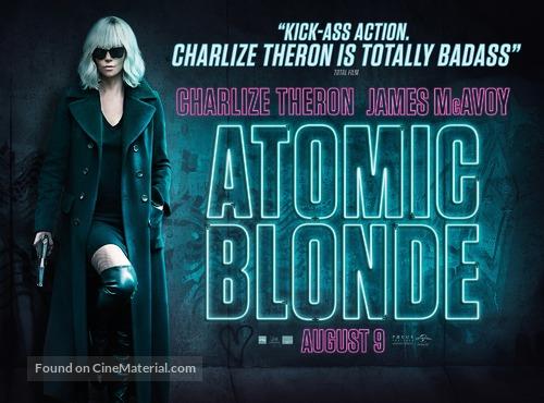 Atomic Blonde - British Movie Poster