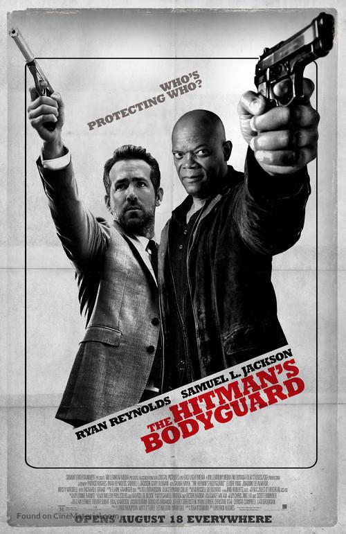 The Hitman's Bodyguard - Movie Poster