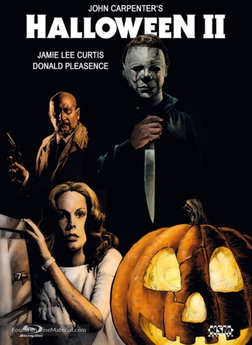 Halloween II - Austrian Movie Cover